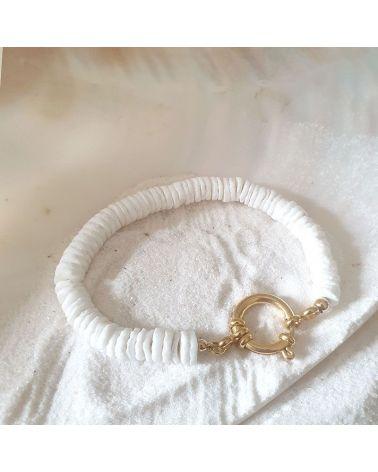 bracelet surfeur nacre