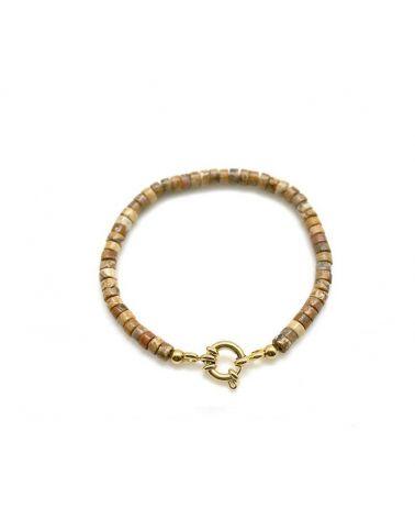 bracelet heishi jaspe