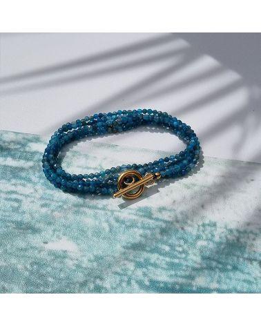 bracelet collier apatite