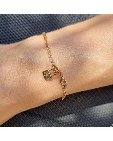 bracelet or cadenas