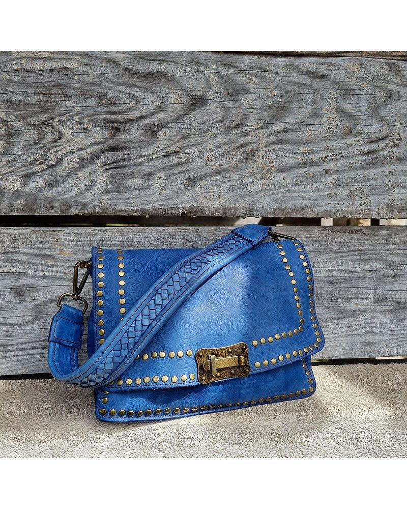 sac crossbody bleu jean