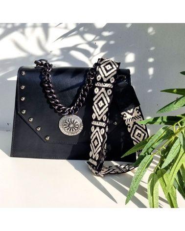 sac chiara cuir noir