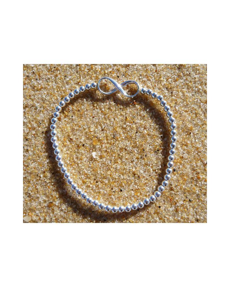 Bracelet Argent 925 Infini