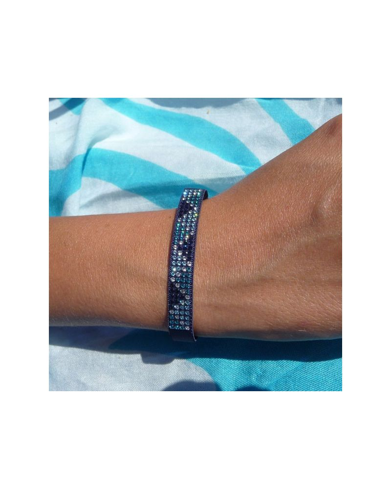 Bracelet mini triangle marine