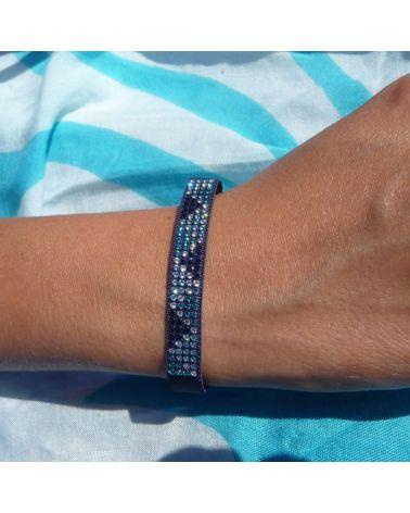 Bracelet mini triangle marine