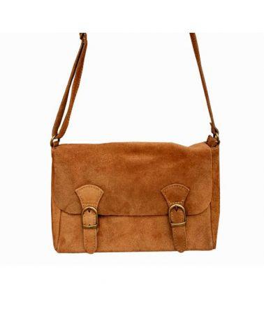Petit sac bandoulière Camel