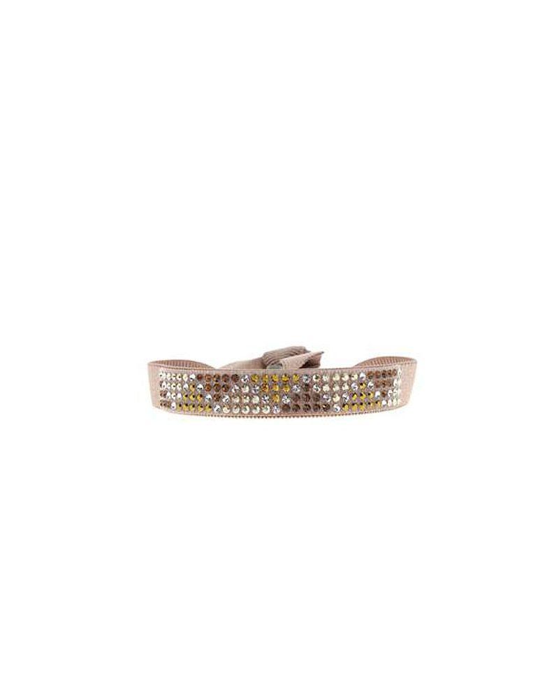 Bracelet Triangle Beige Rosé