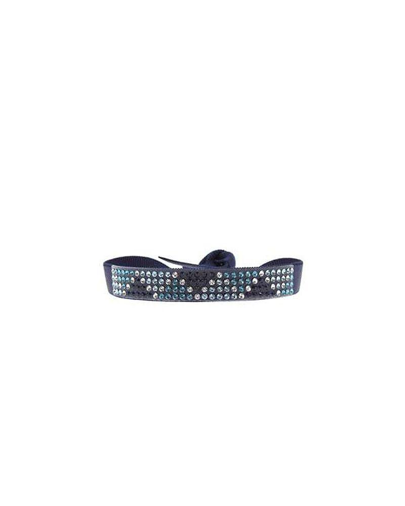 Collier fantaisie coeur en verre avec inclusion sur chaine ras de cou 40 cm