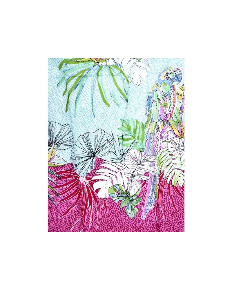 Etole coton perroquet multicolore