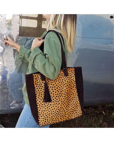 Sac cabas léopard BANITA
