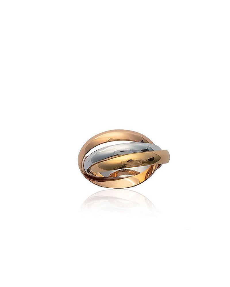 Bague 3 anneaux entrelacés