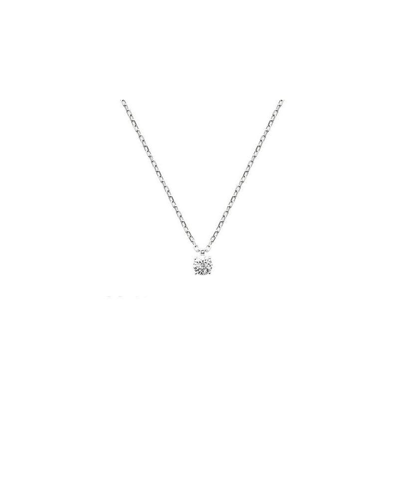 Collier argent pendentif oxyde zirconium