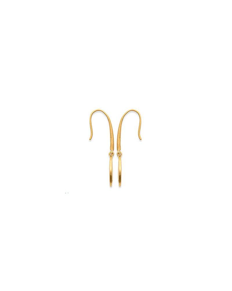 Boucles d'oreilles etoile zirconia