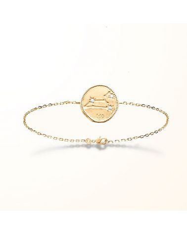 Bracelet constellation Lion