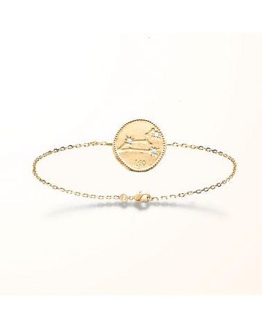 Bracelet constellation Lion