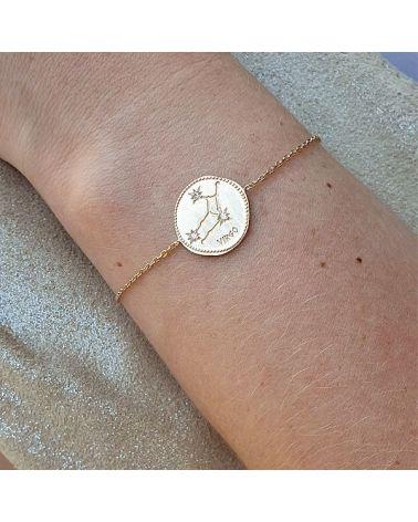 Bracelet constellation Vierge