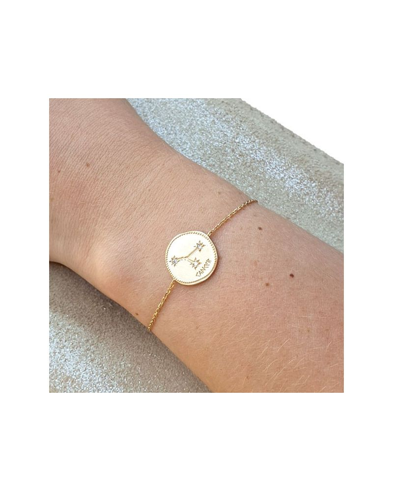 Bracelet constellation Cancer