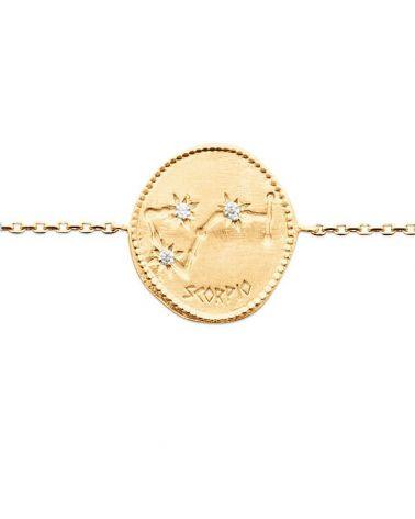 Bracelet constellation Scorpion