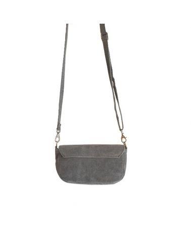 Mini sac bandoulière gris