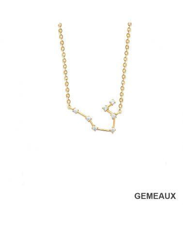 Collier constellation Gémeaux