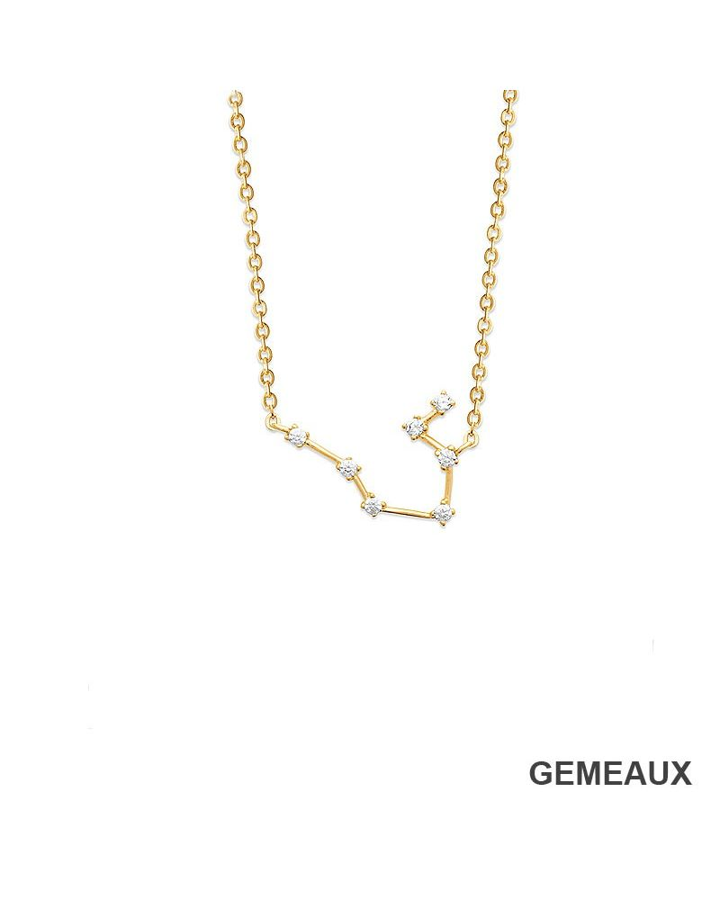 Collier constellation Gémeaux