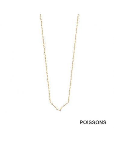 Collier constellation Poissons