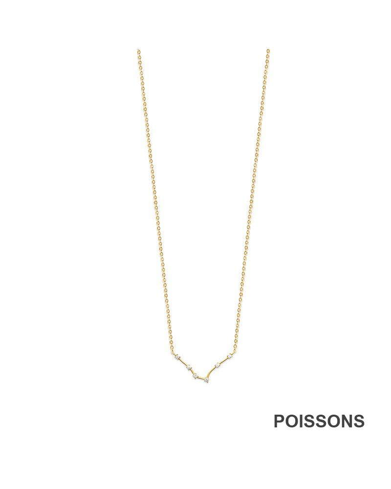 Collier constellation Poissons