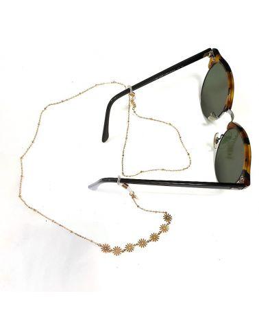 Chaine de lunettes Fleur