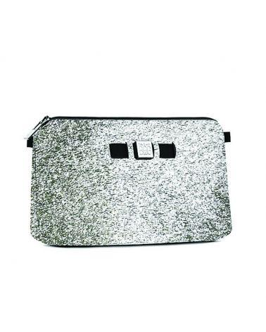 Pochette laminée Argent Save My Bag