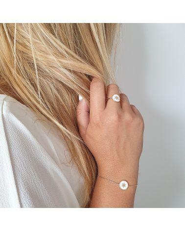 bracelet or email blanc