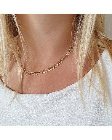 Collier or pampilles