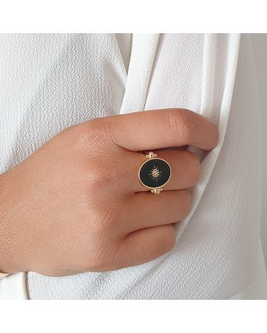 bague or reversible email noir