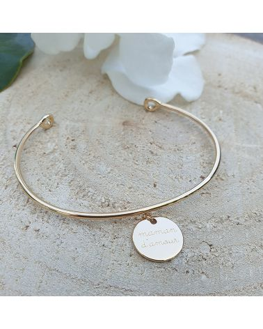 bracelet or maman d amour