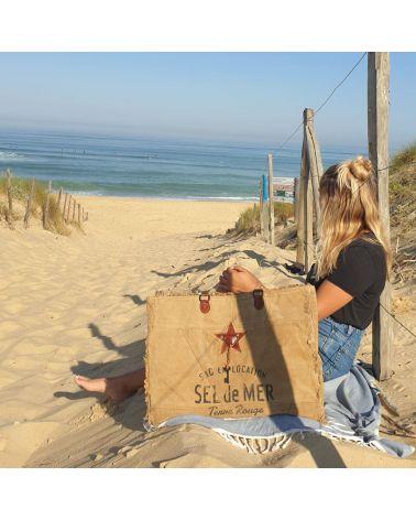 cabas de plage Xl sel de mer