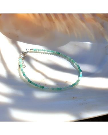 bracelet pierre amazonite