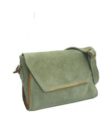 sac à bandoulière vert amande