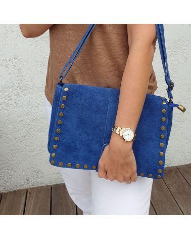 besace it hippie bleu jean