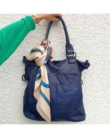 foulard carré accessoire sac