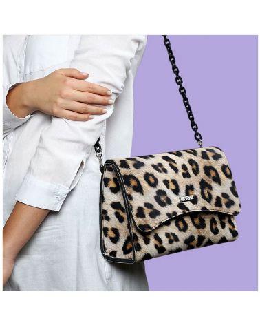 Sac Bella mini léopard Save My bag