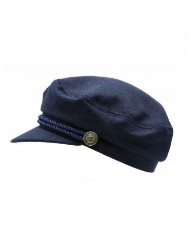 casquette marin bleu