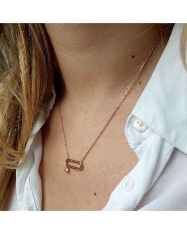 collier anneau zirconium