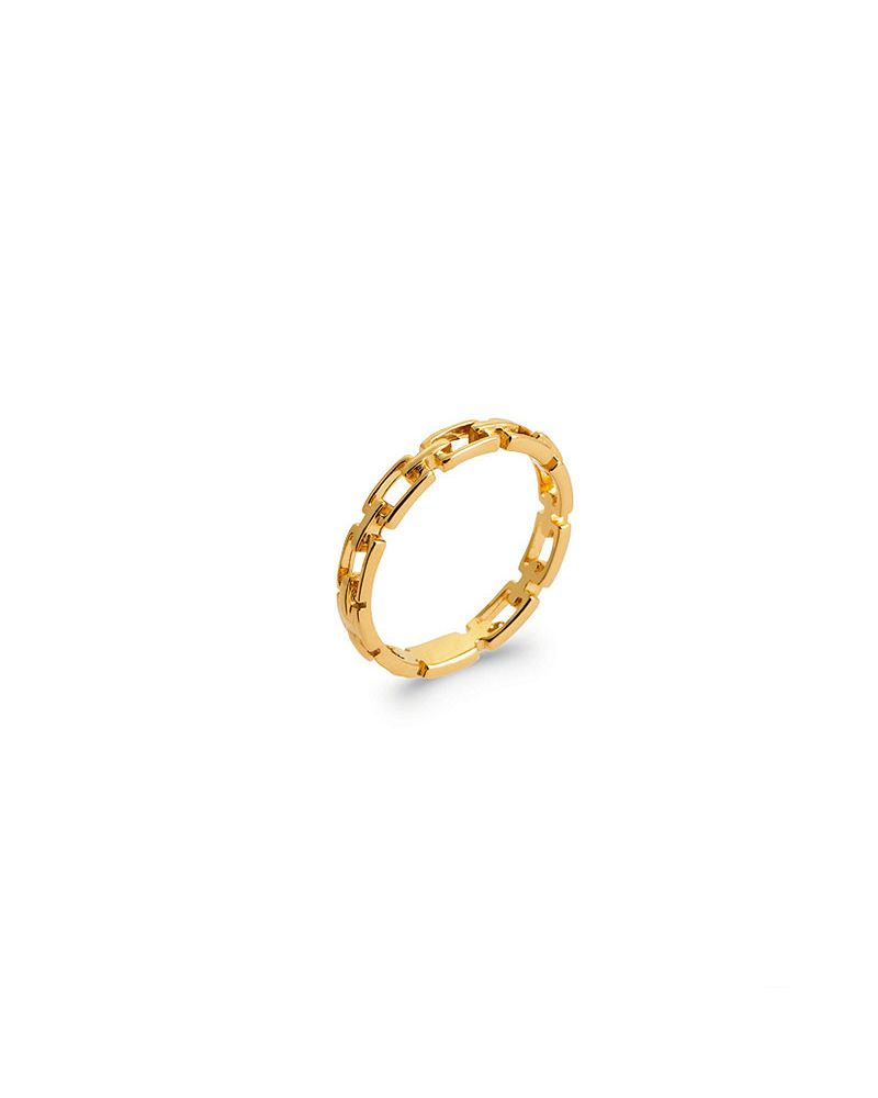 bague maille chaine