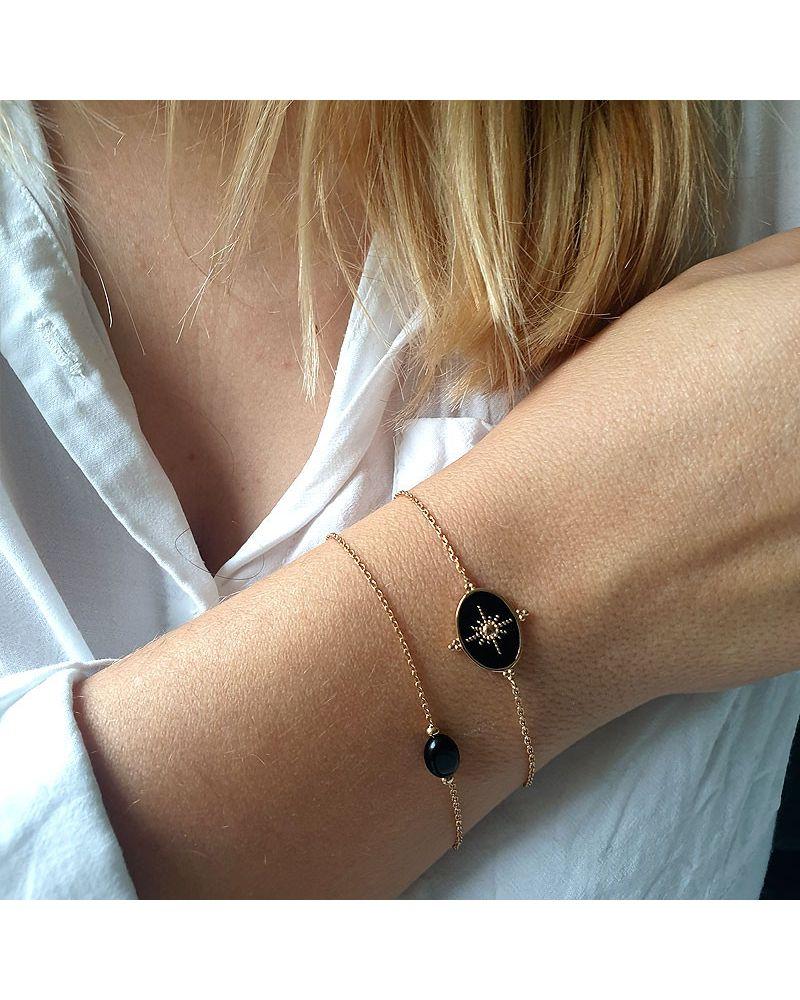 bracelet or médaille reversible