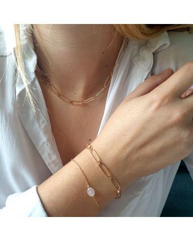 bracelet or quartz rose