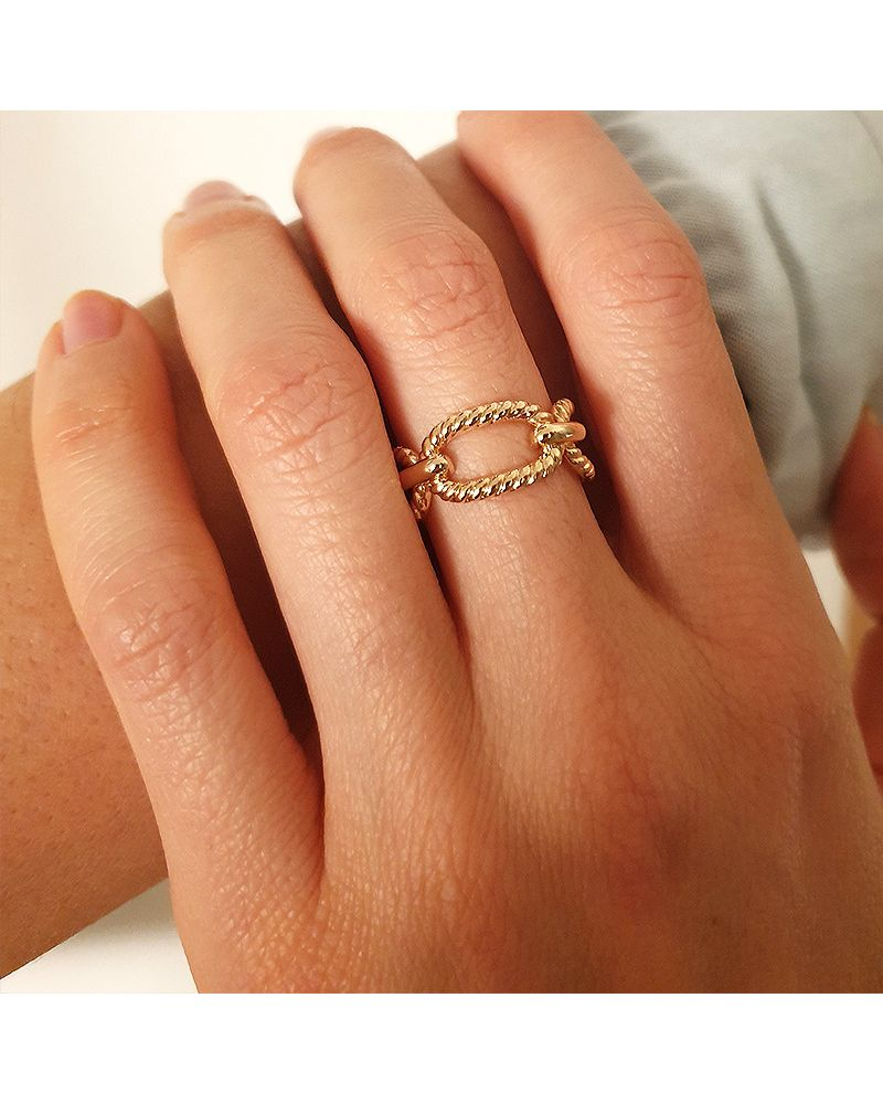 bague or chaine