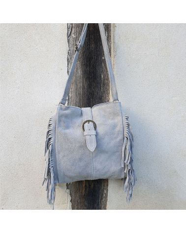 sac franges gris it hippie