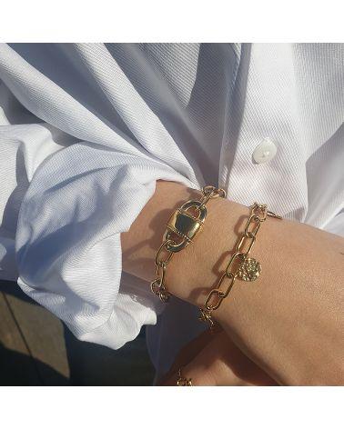 bracelet cadenas mile mila