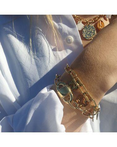 bracelet piécettes mile mila
