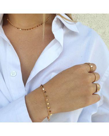 bracelet or pampilles etoiles