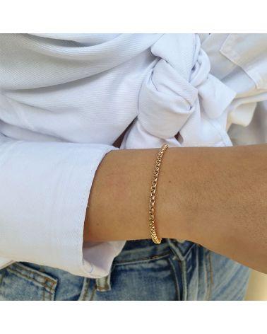 bracelet maille venitienne